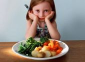 My baby doesn't like to eat vegetables?